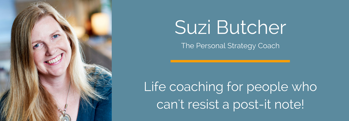 Suzi Butcher - The Personal Strategy Coach - Header